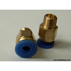 Ventil so samouchytávacím uzáverom 4mm, modrý