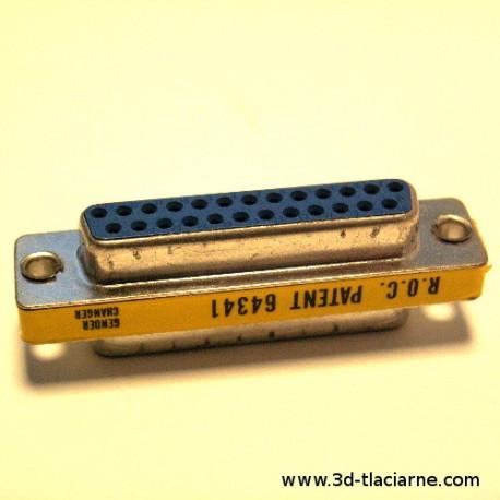 Redukcia D-SUB 25pin konektor