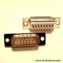 Konektor 15pinový D-SUB