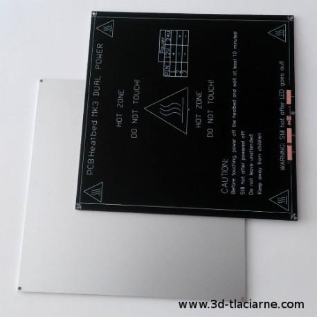 MK3 Vyhrievaná podložka ALU 12a24V čierna