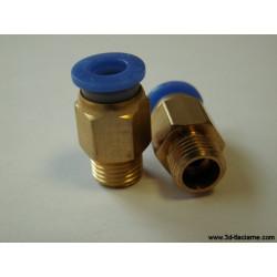Ventil so samouchytávacím uzáverom 6mm - dĺžka 23mm
