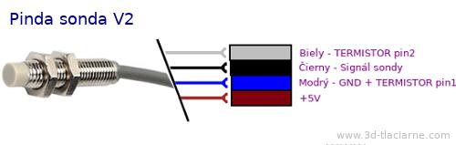 piny pinda sonda zapojenie