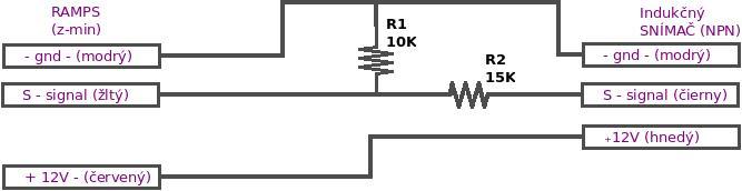 schema zapojenia indukcneho snimaca ramps