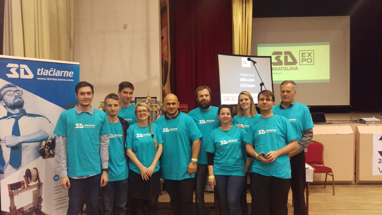 3d tlaciarne - team - 3d expo 2017