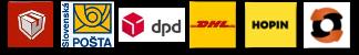 Preprava cez Zásielkovňu, Sl. poštu, DPD, DHL, HOPIN a DEPO