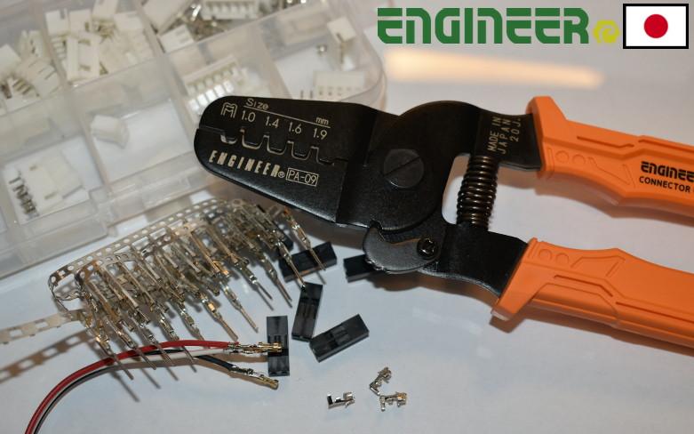 ENGINEER PA-09 najlepšie krimpovacie kliešte