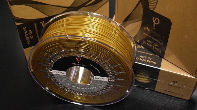 Filament PLA Gold od Philamentum